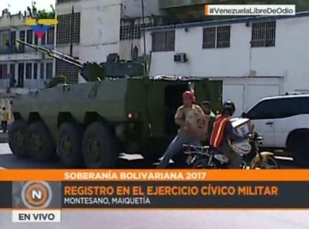 Ejercicio Militar en Maiquetia  (5)