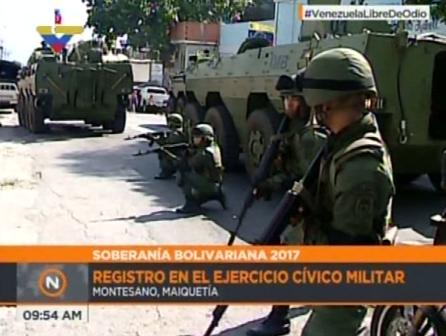 Ejercicio Militar en Maiquetia  (6)