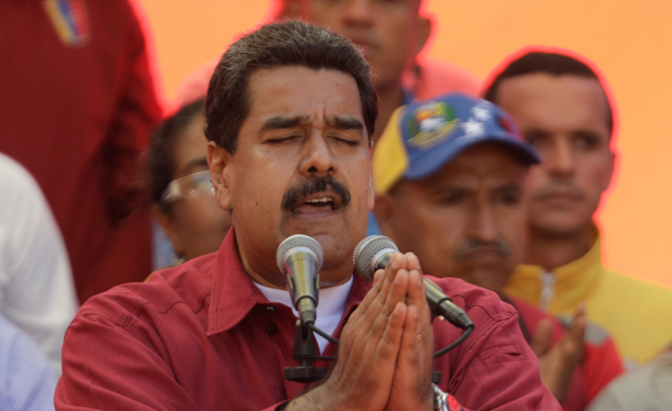 Nicolás Maduro, presidente de Venezuela // Foto