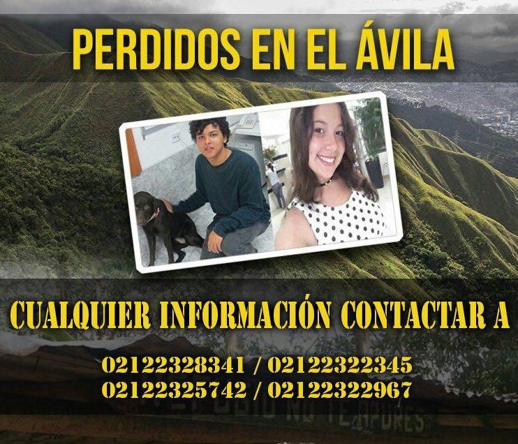 Jóvenes extraviados en El Ávila