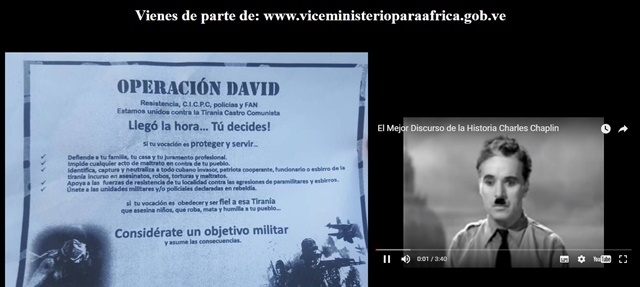 Captura del sitio web www.viceministerioparaafrica.gob.ve