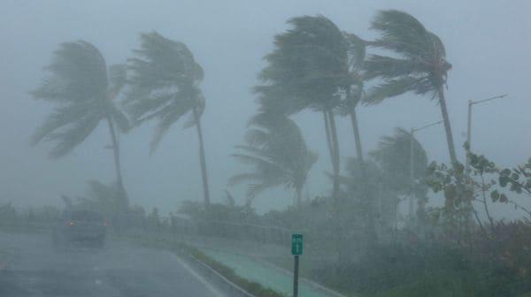 Huracán Irma en su paso por Puerto Rico (Foto: Reurters)