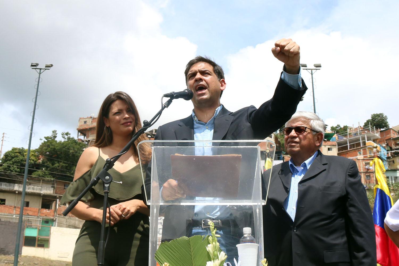Carlos Ocariz: Hoy nos separamos de este cargo, pero no de la lucha