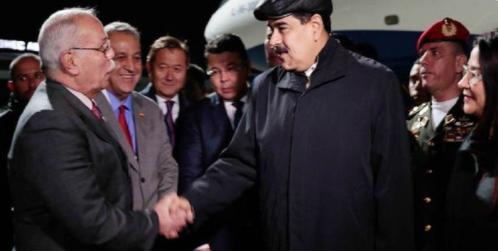 El presidente Nicolás Maduro en Kazajistán