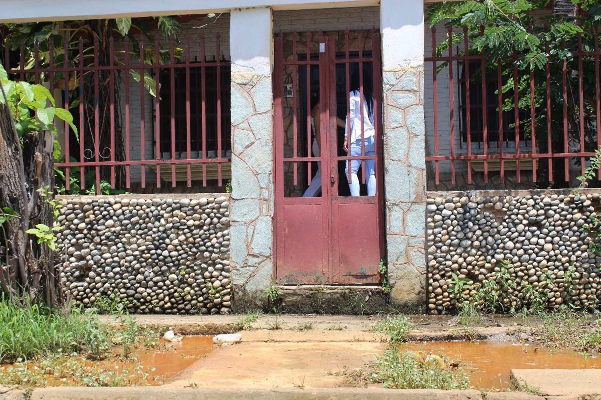 Casas afectadas en el sector Mata redonda / Foto: Mildred Manrique, 800Noticias