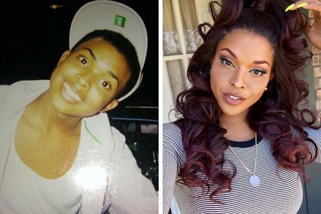 Esta increíble modelo urbana decidió empezar su transformación a los 17 años. Nacido como Arthur Scott, ella entendió lo que quería ser pronto en la vida y comenzó su transición con relleno de mejillas y aumento de busto. Ella ha estado involucrada con raperos como Wiz Khalifa y Souja Boy.
