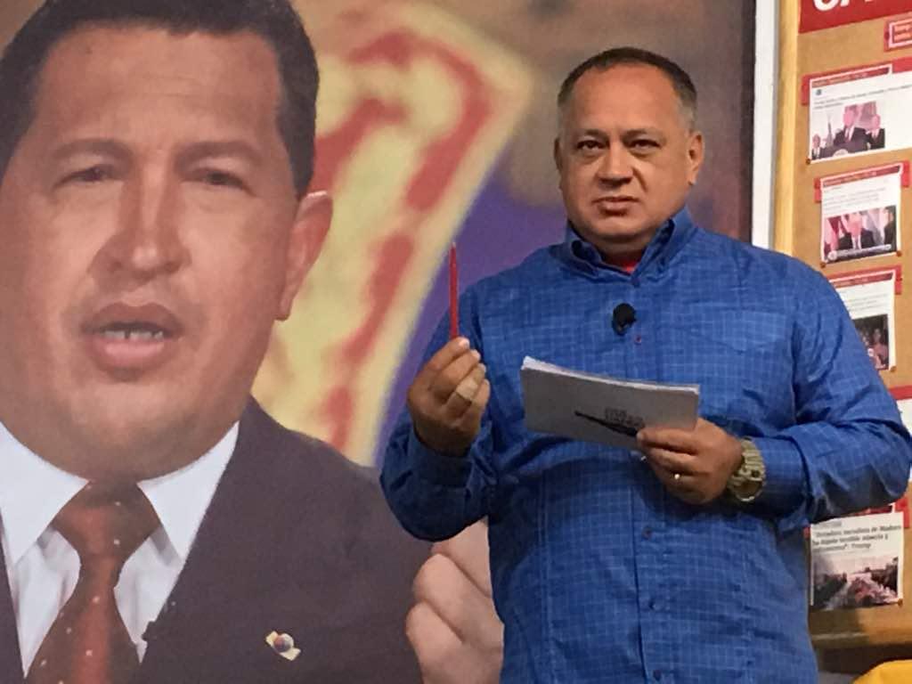 Foto: El constituyente Diosdado Cabello / Archivo
