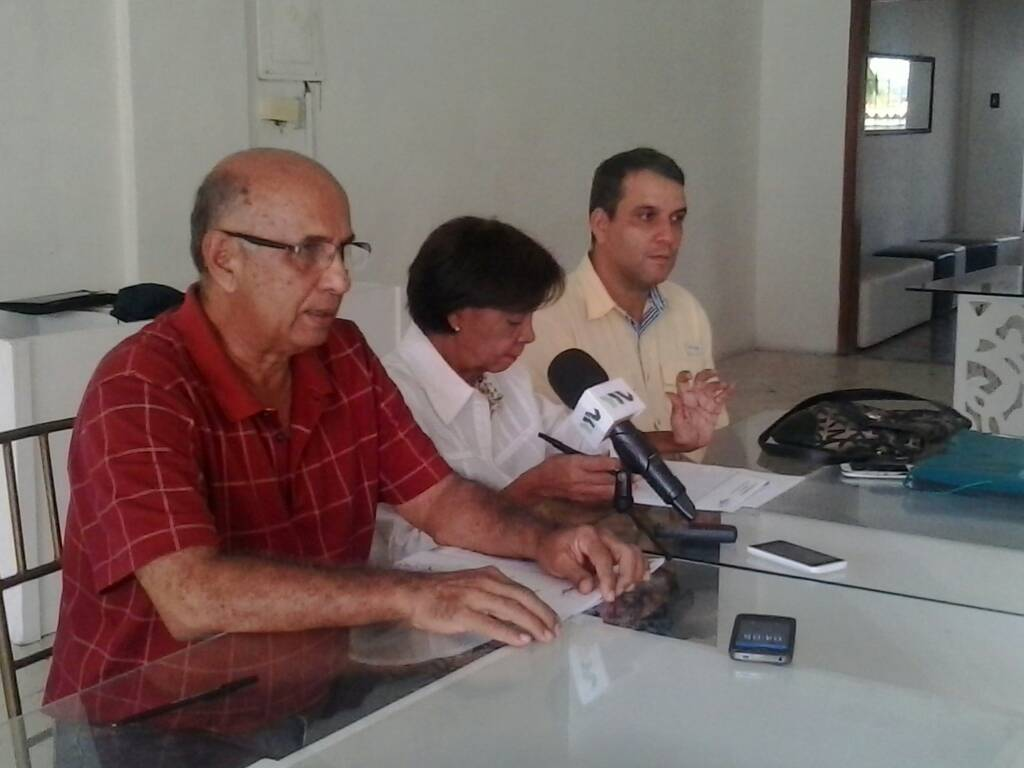 Foto: Los miembros de la Comisión Electoral de Primarias en Yaracuy  / Prensa