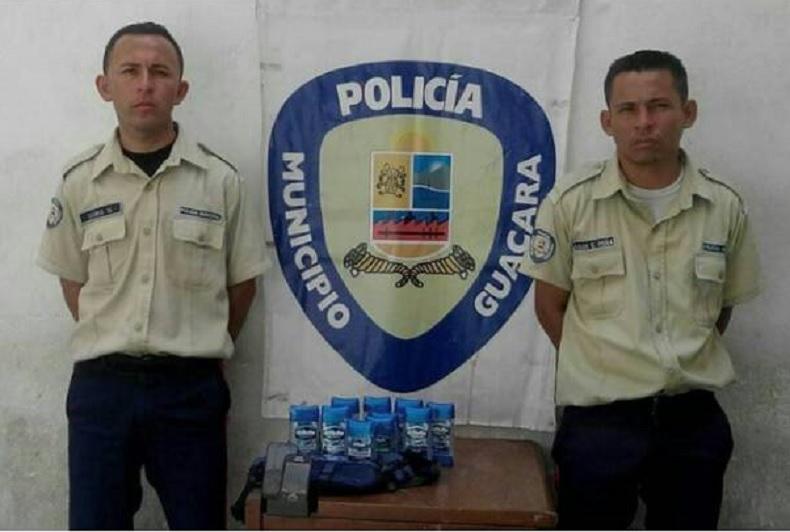 poliguacara detenidos