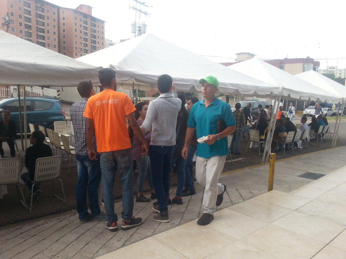 Foto: En San Cristóbal salieron a votar este domingo / ]Avanzada Progresista