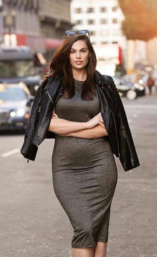 Chloe Marshall: Modelo de 24 años, de talla 48