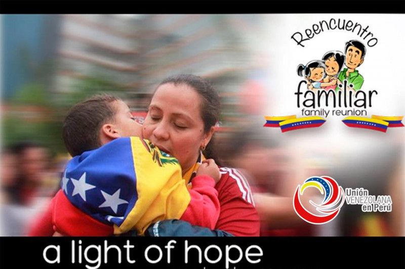 Madres venezolanas en Peru