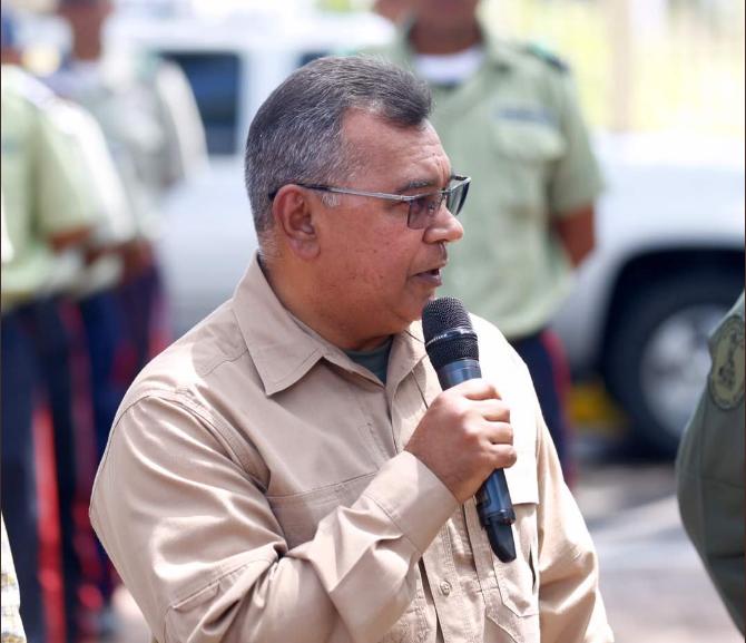Ministro Néstor Reverol. Foto @NestorReverol