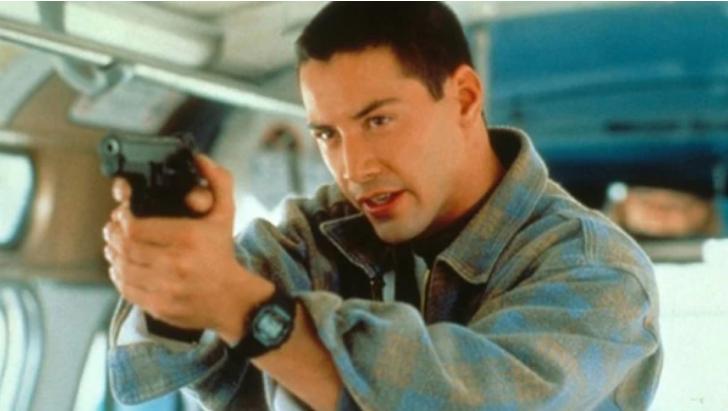 """Keanu Reeves en """"Máxima Velocidad"""" (1994)"""