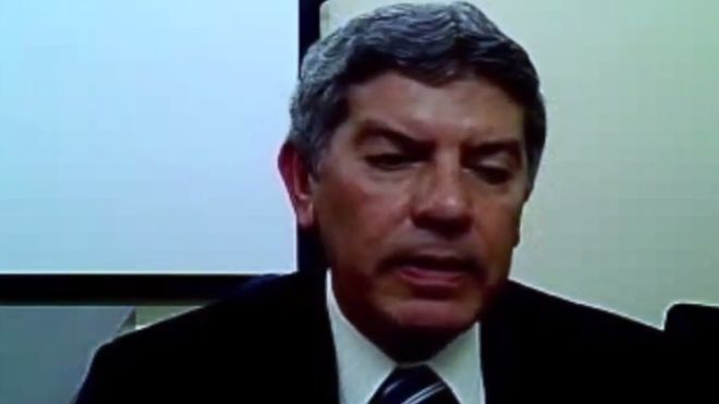 El presidente de Odebrecht-Venezuela, Euzenando Prazeres de Azevedo