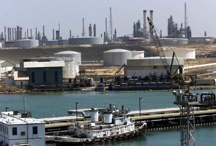 La refinería de petróleo Paraguana Amuay en Venezuela, 7 de enero de 2003. Imagen de archivo.
