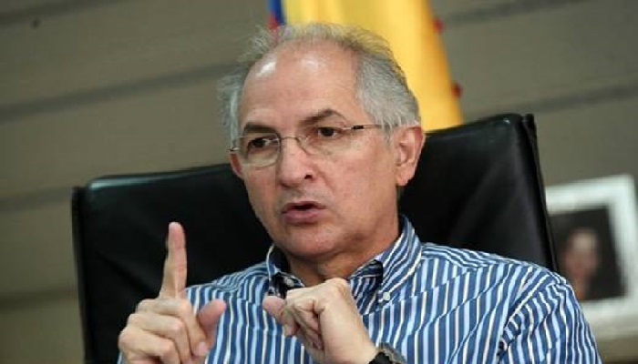 Antonio Ledezma, ex alcalde metropolitano de Caracas // Foto Prensa