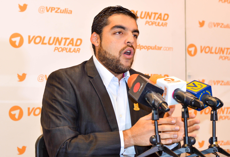 Ángel Machado, Concejal de Maracaibo | Foto: Prensa Voluntad Popular Zulia