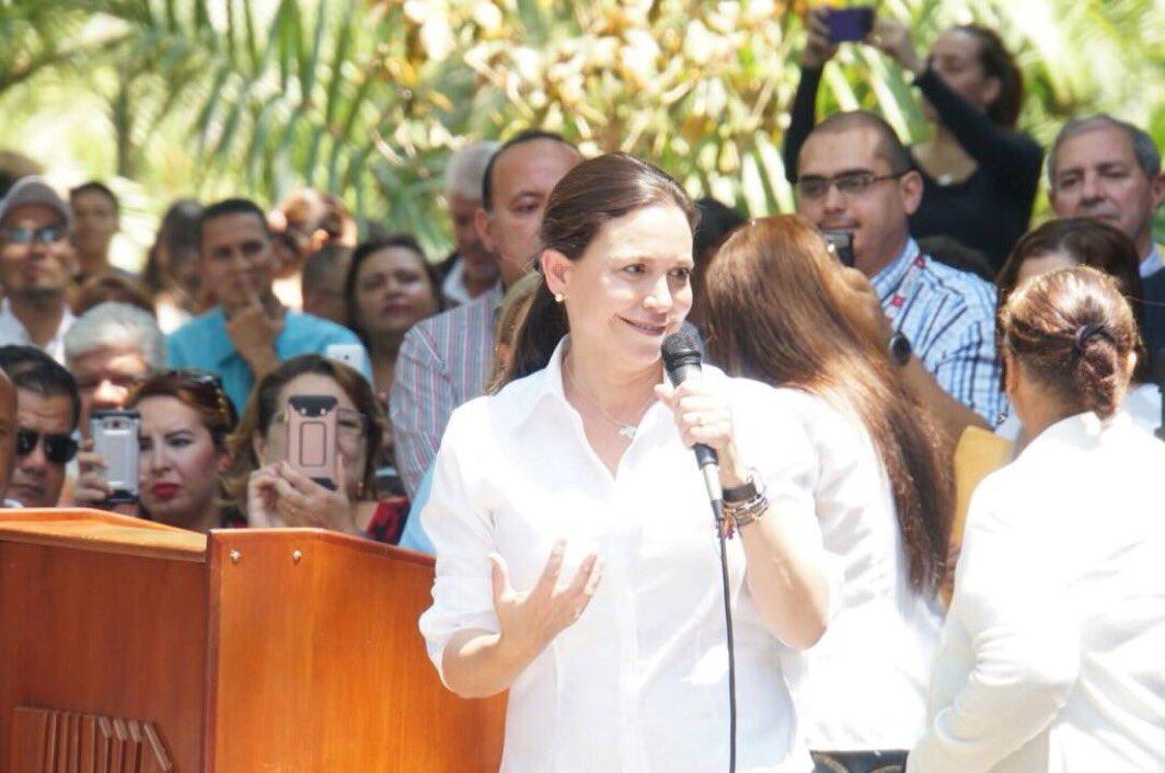Maria Corina Machado | Foto: Captura de las redes sociales
