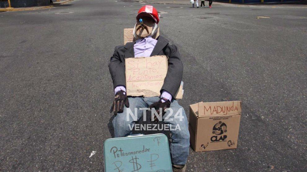 Foto: Petro... el nuevo Judas Iscariote en Venezuela / Cortesía NTN24