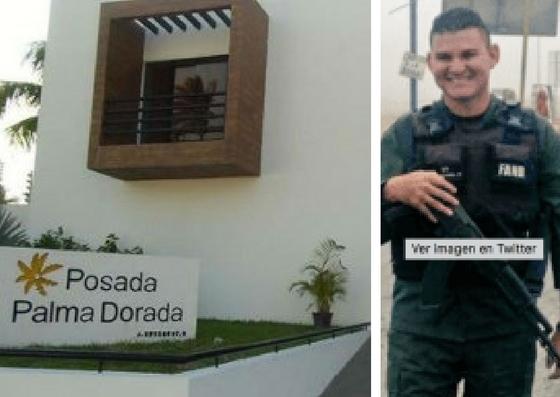 Fotos: Posada Palma Dorada y Sargento de la GNB Carlos Alberto Graterol Martínez / diariolavoz.net