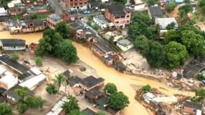 Dos muertos y 200.000 afectados por fuertes lluvias en Río de Janeiro