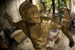 Pelé será de bronce (Fotos y Video)
