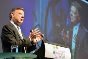 Santos pide a Europa que se sume a Latinoamérica en lucha contra las drogas