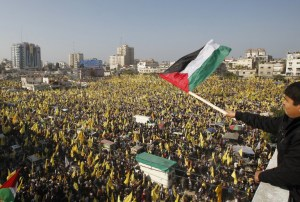 Hamas autoriza masiva celebración del Fatah en Gaza