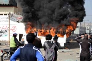 Al menos 31 muertos en Puerto Saíd, enfrentamientos en varia ciudades egipcias (Fotos)