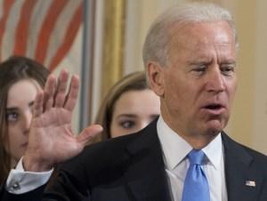 Vicepresidente estadounidense Biden tomó juramento para su segundo mandato (FOTO)