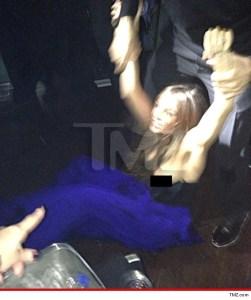 A Sofía Vergara se le escapó una lola en el altercado de la discoteca (con ese tremendo escote)