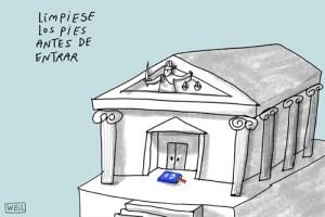 Caricaturas del martes 15 de enero de 2013