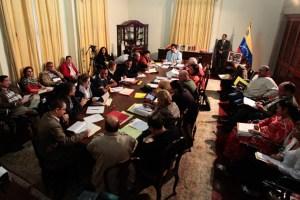 Nicolás Maduro dirige Consejo de Ministros