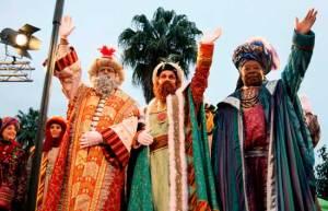 Niños españoles se preparan para recibir a los Reyes Magos