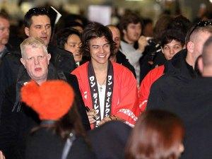 Los One Direction desataron la locura en Japón