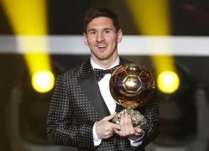 """Esto fue lo que dijo Messi sobre ganar el """"Balón de oro"""""""