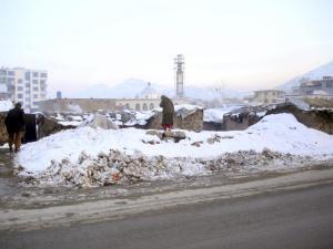 Los desplazados, vulnerables frente al crudo invierno de Afganistán