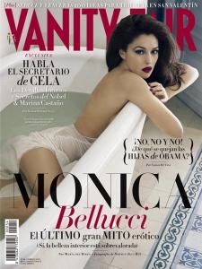 Mónica Bellucci muy sexy en la portada de Vanity Fair (Foto)