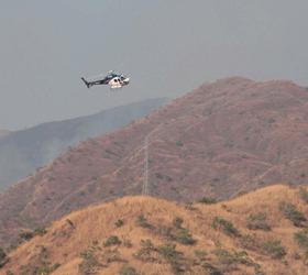 Operación Llovizna se activó para controlar incendio en el Henri Pittier