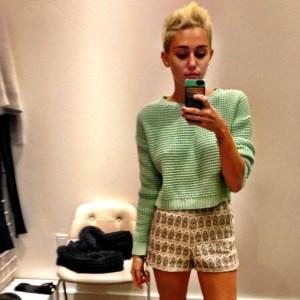 ¡OMG! Qué le pasó a Miley Cyrus (Foto)