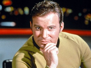 El Capitán Kirk tuitea al espacio