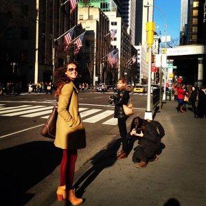 La fabulosa vida de Irene Esser en Nueva York (FOTOS)