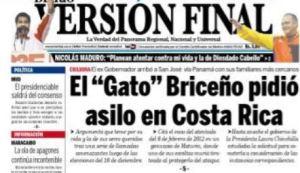 """Versión Final: El """"Gato"""" Briceño pidió asilo en Costa Rica"""