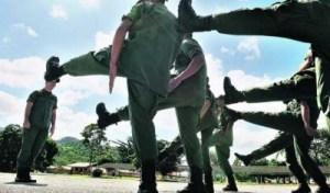 Comienza proceso de alistamiento militar en todo el país