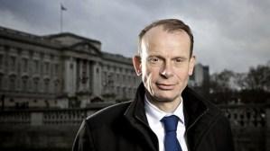 Andrew Marr, presentador de la BBC sufre una apoplejía