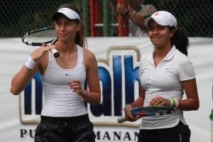 Jornada agridulce en la Copa Gatorade para las raquetas venezolanas