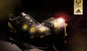 Estos son los nuevos tacos dorados de Messi (Foto + 4 Balones de Oro)