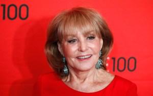 Barbara Walters se cayó y la hospitalizaron