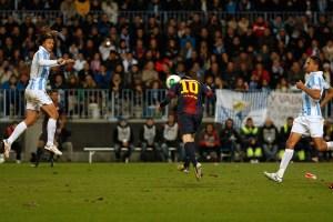 Un 4-2 ante el Málaga aseguró el pase a las semis de la Copa del Rey para los blaugranas